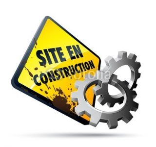 site web en construction